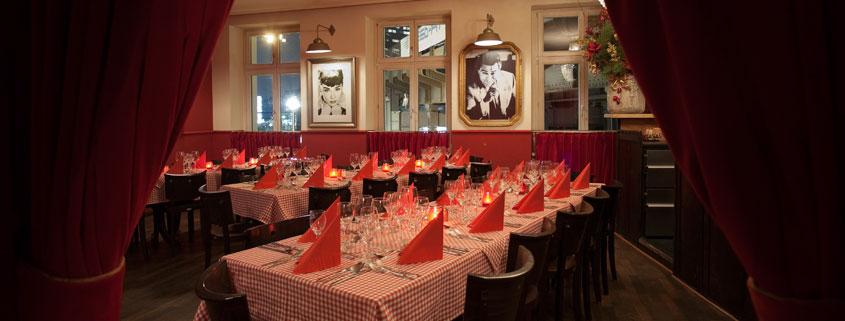 Große Veranstaltungsräume in Berlin Mitte - Vaporetto Restaurant