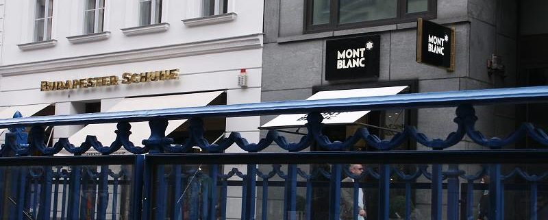 Friedrichstraße in Berlin, nur 4 Minuten vom Vaporetto Restaurant entfernt